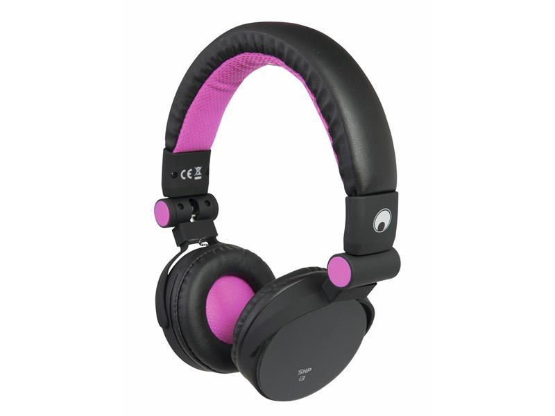 Omnitronic SHP-i3 Stereo Kopfhörer sweet pink