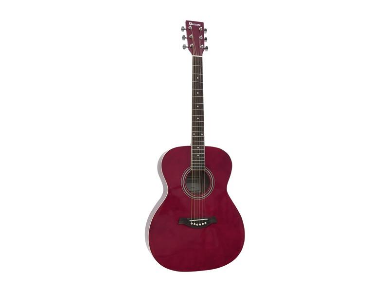 DIMAVERY AW-303 Western-Gitarre rot