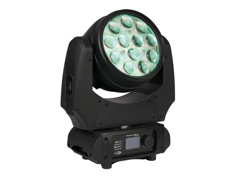 SHOWTEC Phantom 120 LED Wash - 12 x10W RGBW Moving-Head