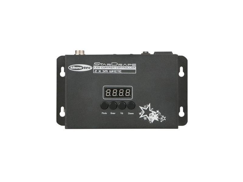 Showtec Stardrape White LED 2 x 3m - incl. Controller und Tasche