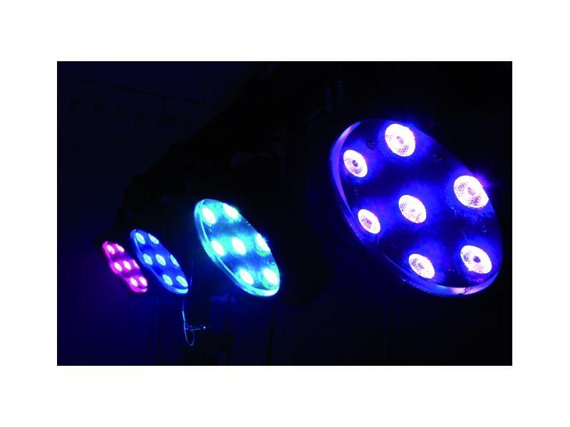 EUROLITE LED KLS-801 Kompakt-Lichtset,  4 x 7 x 3W TCL, 84W LED