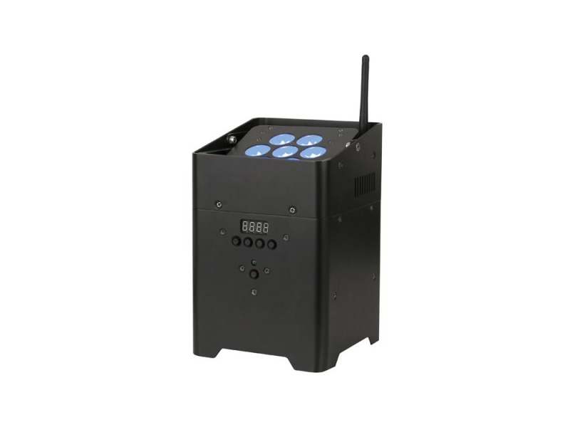 SHOWTEC EventLITE 7/4 incl. Wireless DMX - 7 x 4W RGBW LED