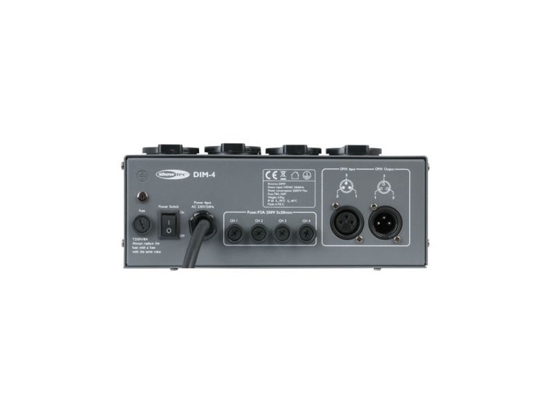Showtec DIM-4 Channel 3A per channel Dimming Pack
