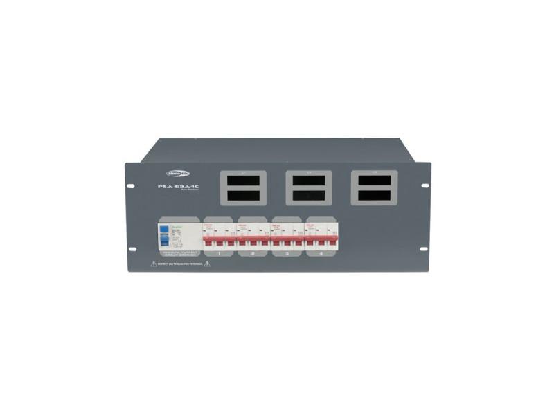 SHOWTEC PSA-63A4C 4 x MCB, CEE out