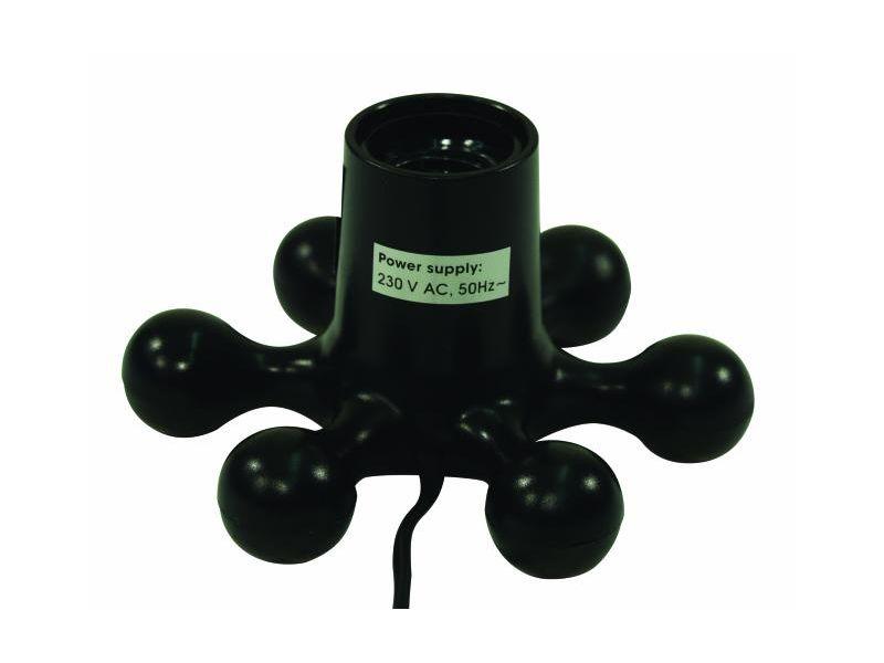 Eurolite Lampenfassung GU10  230 V  mit Eurostecker mit Wippschalter