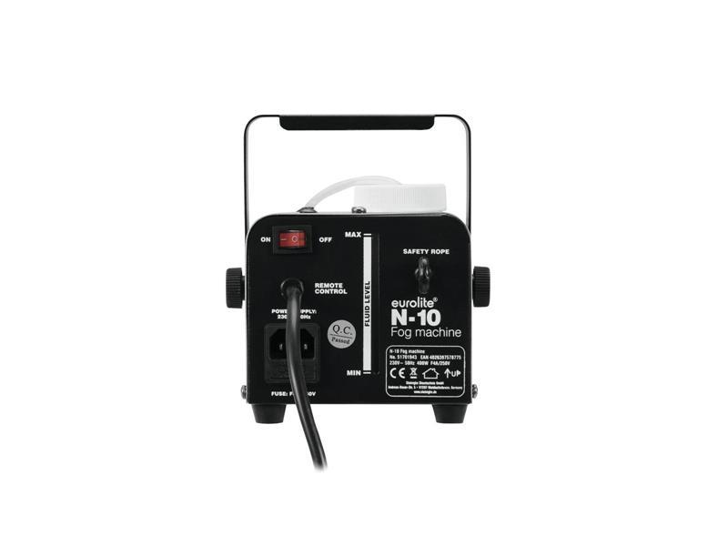 EUROLITE N-10 Nebelmaschine+ 5 Liter Pro Lighting Nebelfluid Light