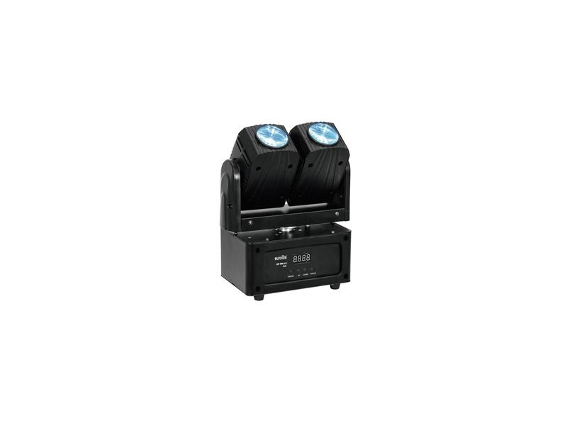 EUROLITE LED TMH-21.i Twin Moving-Head Beam 2 x 10W RGBW