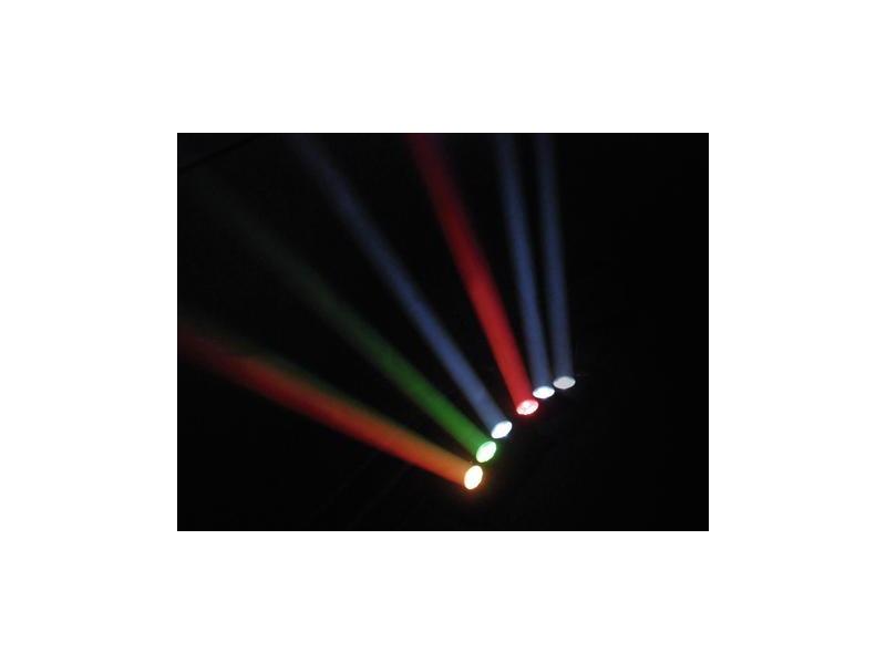 Futurelight Color Wave LED-Moving-Leiste 6x10W RGBW, MultiBeamHead