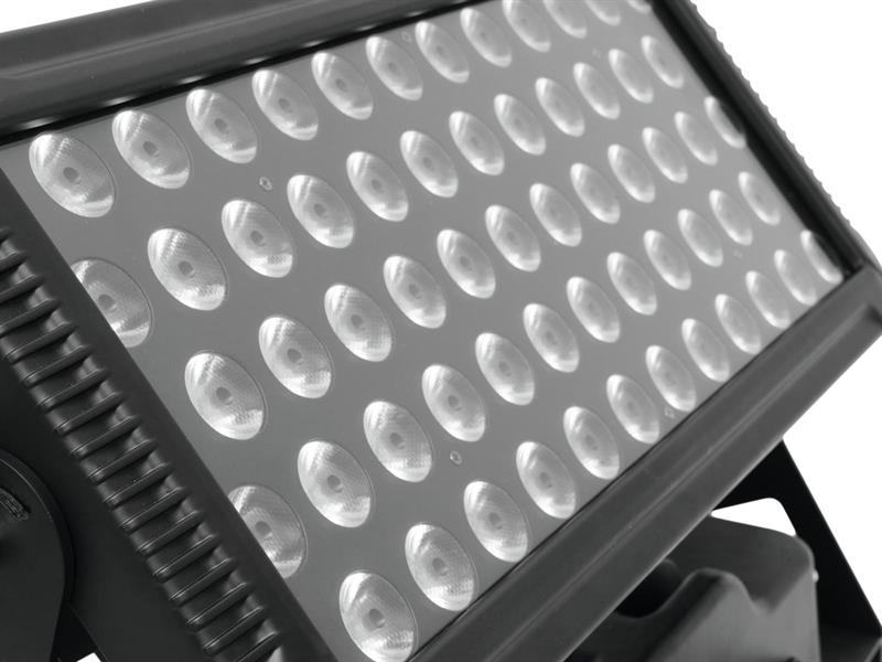 Eurolite LED IP CCR-600 QCL Wall Light inkl. Flightcase 60 x 8W RGBW LED IP65