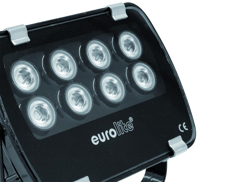 EUROLITE LED IP FL-8 gelb 60°