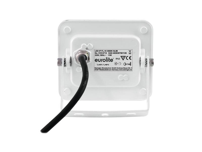 eurolite LED IP FL-10 3000K SLIM, 10 Watt SMD LED, IP65, 120° Abstrahlwinkel
