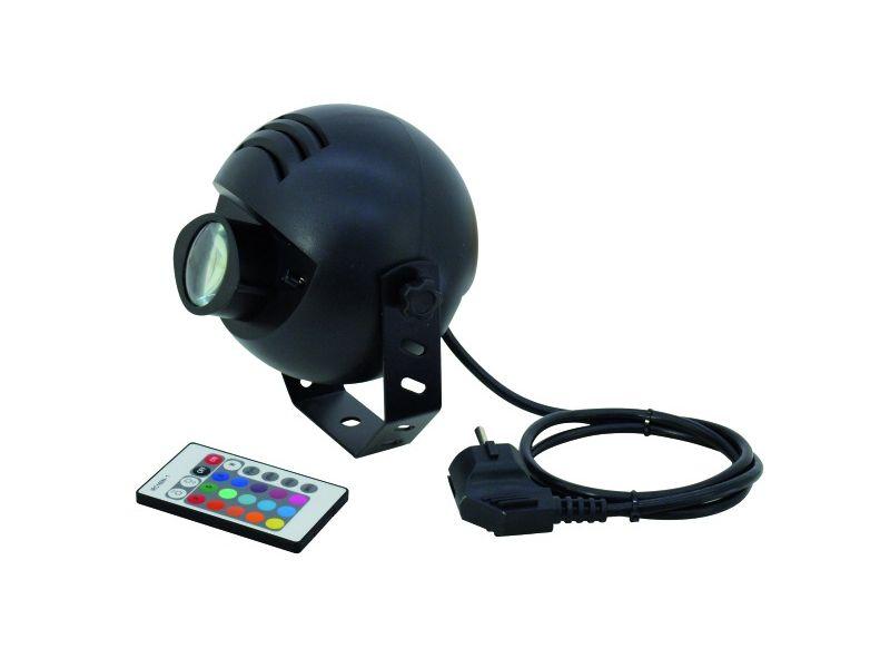 EUROLITE LED PST-9W TCL IR PinSpot, 9Watt RGB, 6°