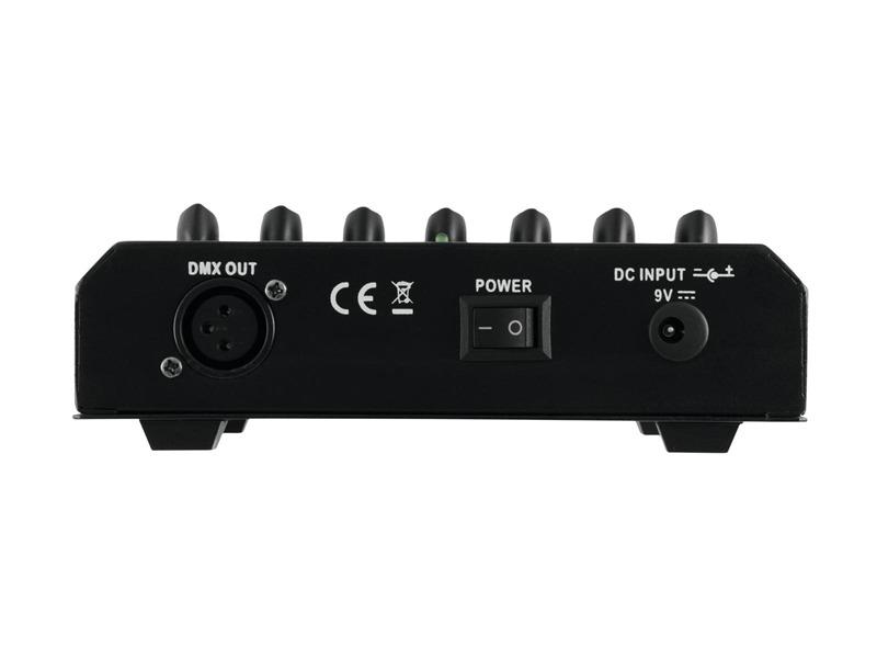 Eurolite FD-6+1 DMX Dimmer Panel - DMX-Controller für 6 Kanäle