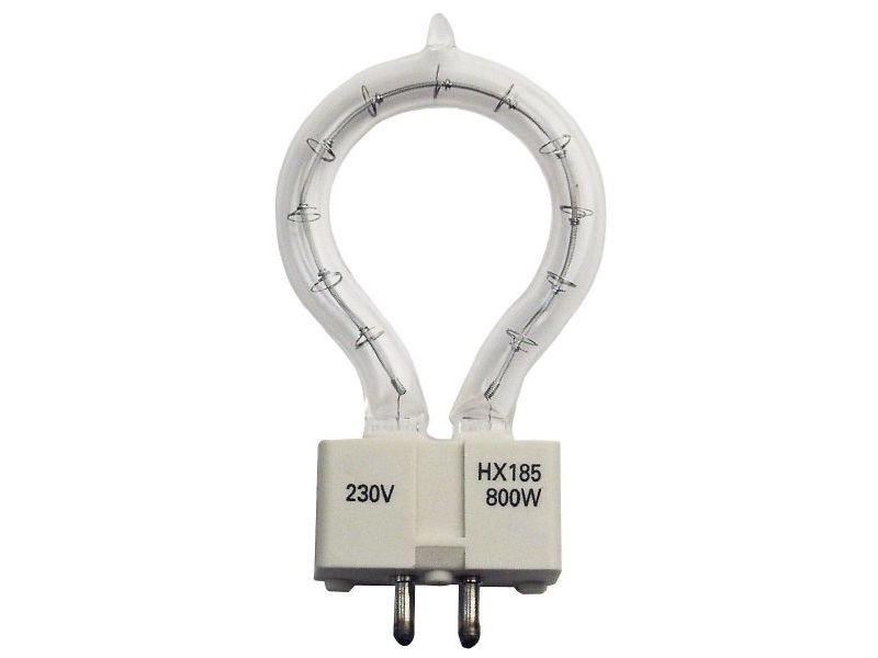 GE Roundlux 800W, 230V, GX 9.5, Tunnellampe