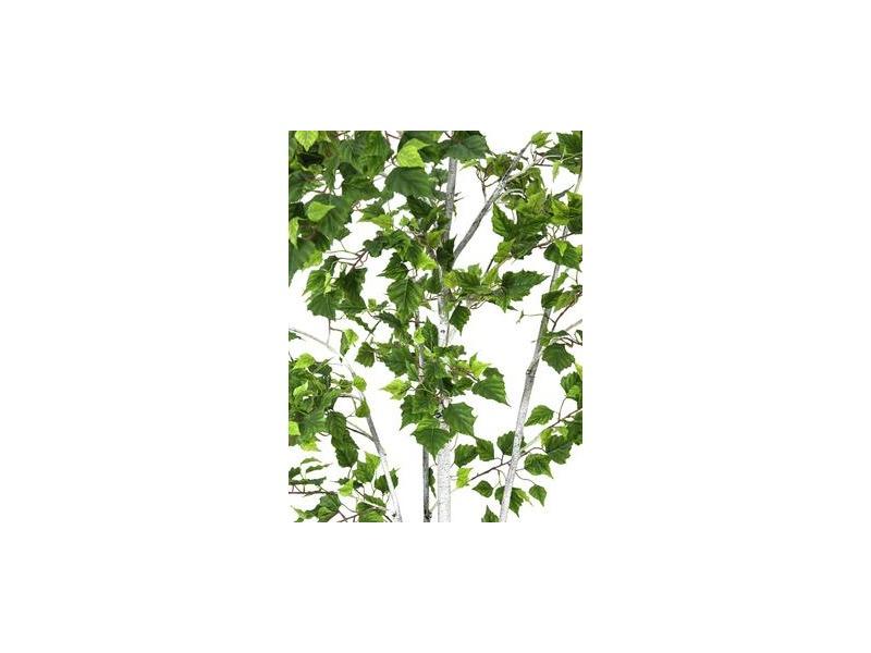 Europalms birkenbaum im g rtnertopf 150cm kunstpflanze for Birkenbaum deko