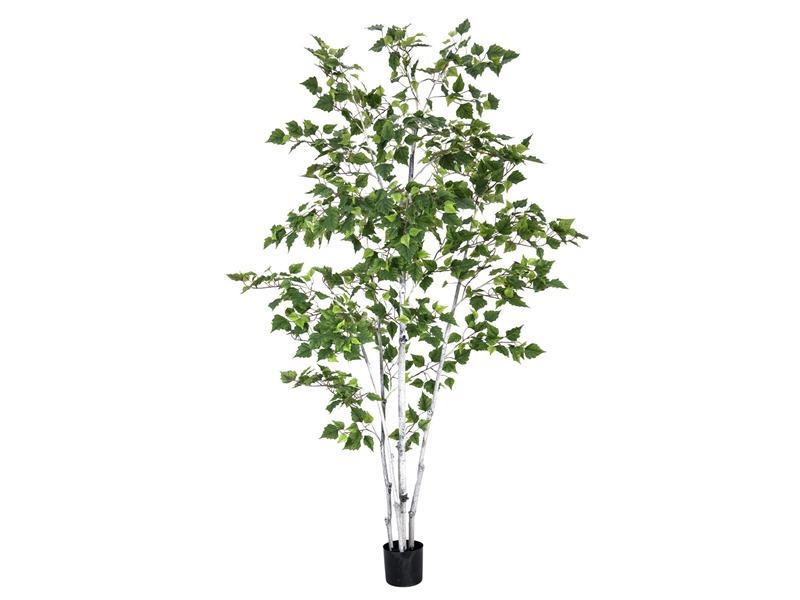 Europalms birkenbaum im g rtnertopf 210cm kunstbaum for Birkenbaum deko