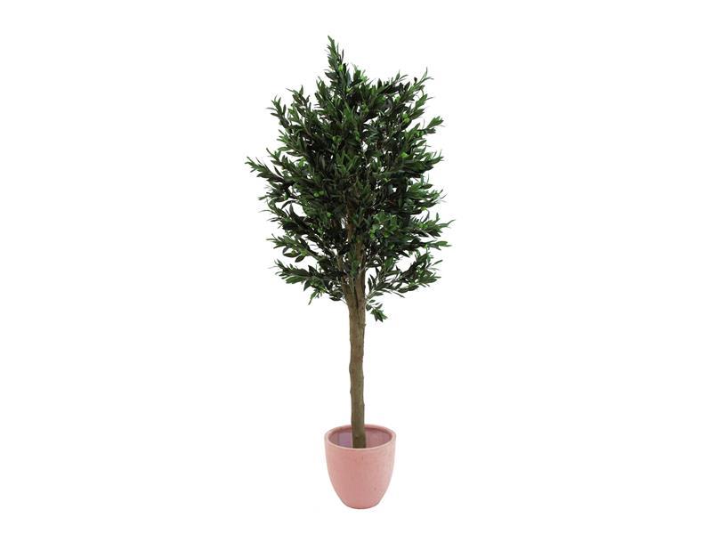 Europalms Olivenbaum mit dickem Stamm, 200cm - Kunstpflanze