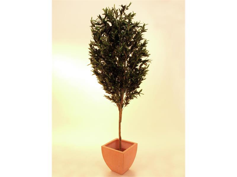 Europalms Olivenbaum mit Früchten, 200cm - Kunstpflanze