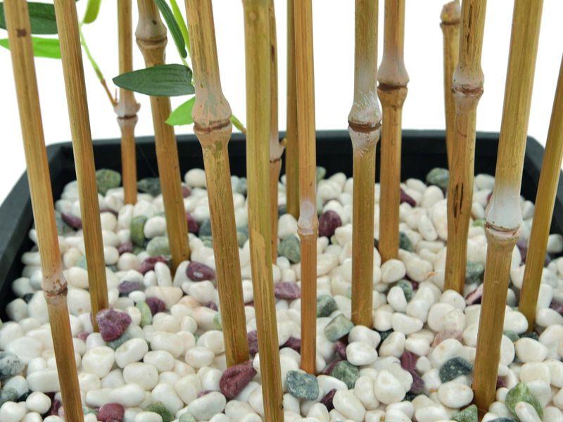 Zierbambus in Dekoschale, 150cm, Kunstpflanze