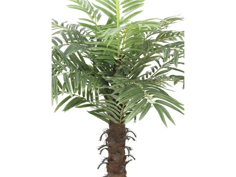 Europalms Kokospalme mit 15 Wedeln, 120cm, Kunstpflanze