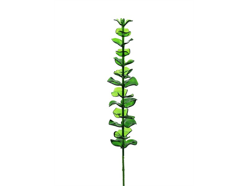 12x Europalms Kristalleucalyptus, grün, 81cm, Kunstpflanze