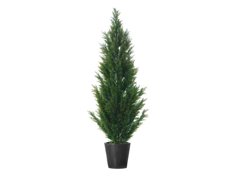 Europalms Zypresse, 140cm - Kunstpflanze
