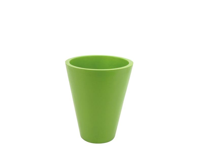 Europalms Fiberglastopf grün, rund  D=44/H=61cm