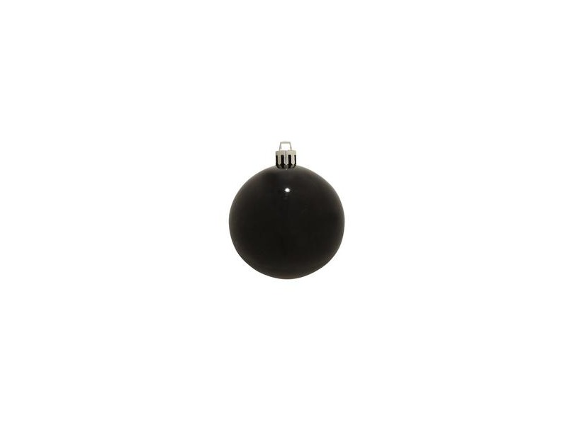 Europalms Christbaumkugel 20cm, schwarz