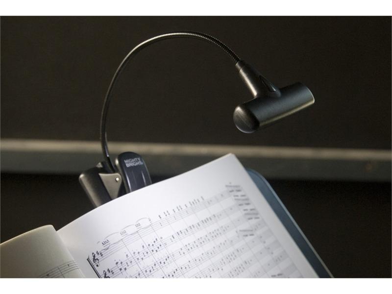 König & Meyer 85665 Notenpultleuchte »Mighty Bright - Hammer Head« - schwarz