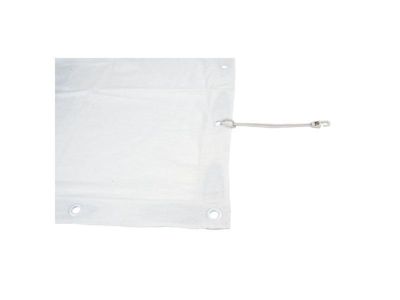 Showtec Square cloth white 3,4 x 3,4 m