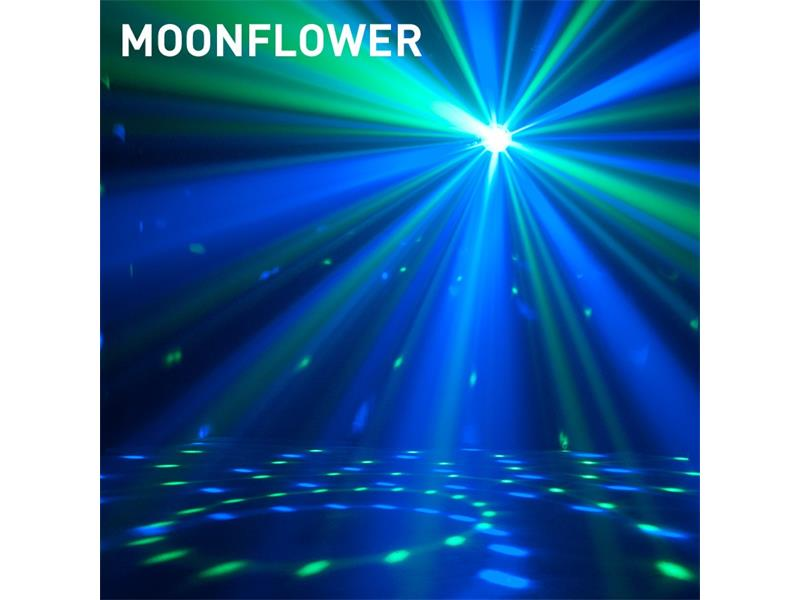ADJ Stinger Star - 3 in 1 Effekt Moonflower / Strobe Chaser / Laser