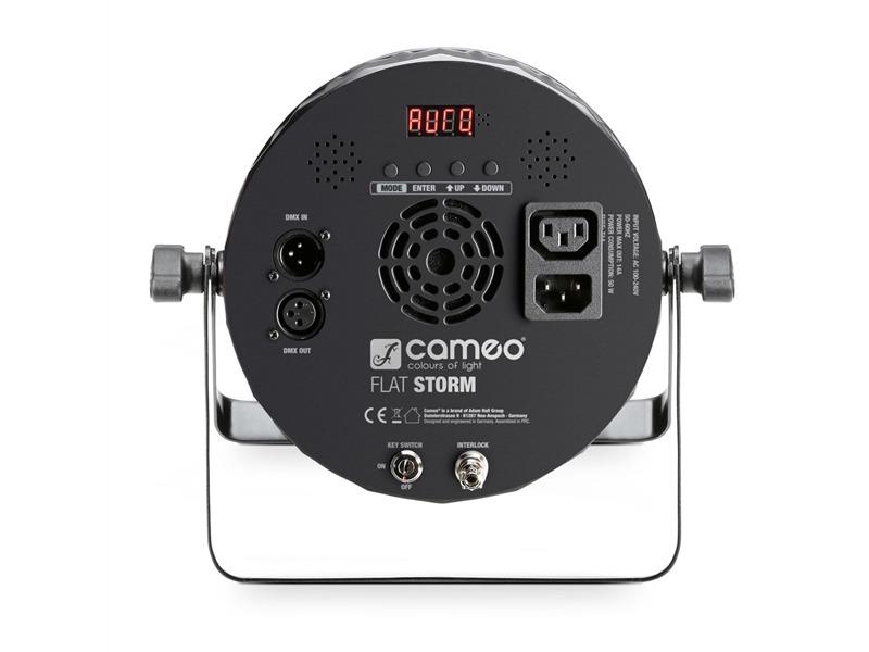 Cameo FLAT STORM - Flat Storm 3-in-1 PAR-Scheinwerfer, Laser und ...