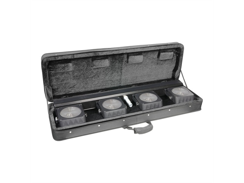 Cameo Multi PAR COB 1 - Kompakte 4 x 30W COB LED Lichtanlage inkl. Case