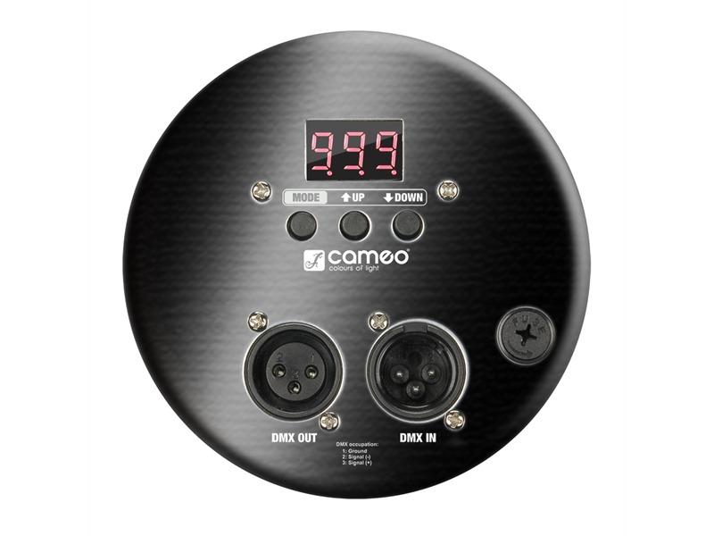 Cameo LED Par 64 CAN - 183 x 10 mm LED RGB schwarz