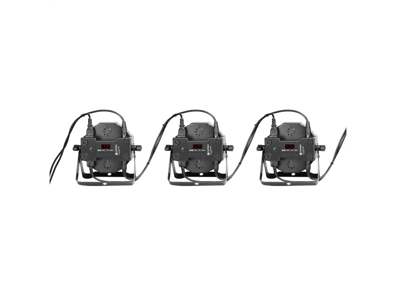 Cameo FLAT PAR CAN IR  RGB 10 - 144 x 10 mm  schwarz