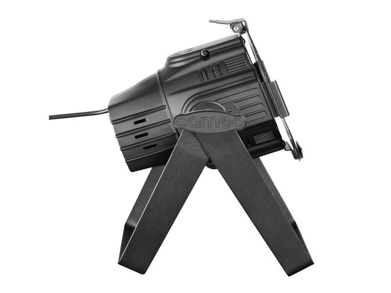 Cameo Studio Mini PAR Q 4W W - 7 x 4 W LED Warmweiß/Kaltweiß schwarz
