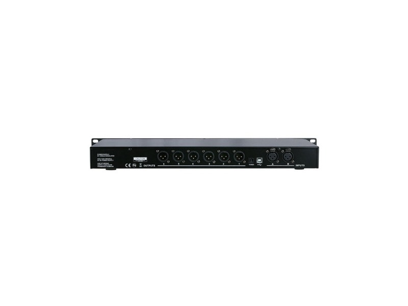 DAP-Audio DCP-26 MKII Frequenzweiche 2-in, 6-out