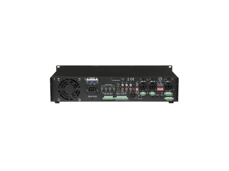 DAP ZA-7250 250W 100V Zone Amplifier