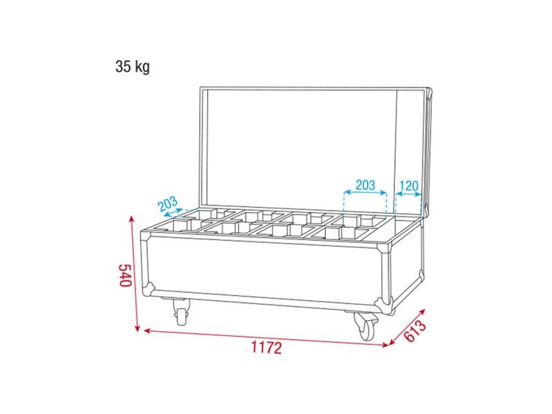 DAP Case for 8x NanoQ 12 Q4 Premium Line