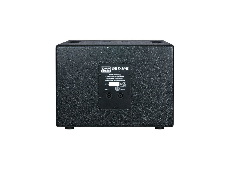 dap drx 10b passiver subwoofer 500 watt 10 zoll. Black Bedroom Furniture Sets. Home Design Ideas