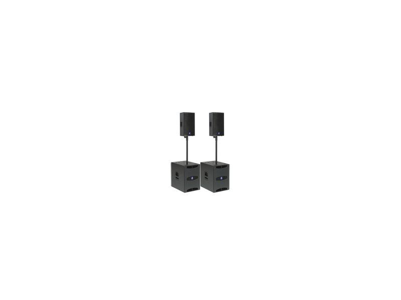 dBTechnologies FLEXSYS Band System, 2x F12 + 2x SUB15D, 2400W