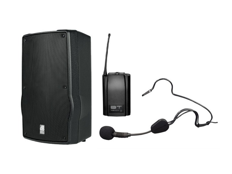 dB Ready 4 MKII Sport-Set - Ready4 + BT-Ready 4 Taschensender + Headset