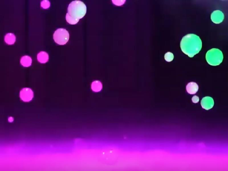 DJ Power Seifenblasenmaschine WP-2 Bubble Fogger Set mit Fluid