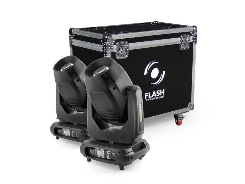 FLASH 17R CMY Hybrid Moving Head Set, Demo-Ware