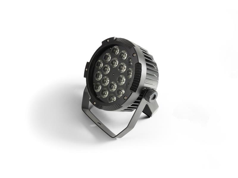 FLASH LED PAR 18x15W 6in1 IP65, RGBWA+UV