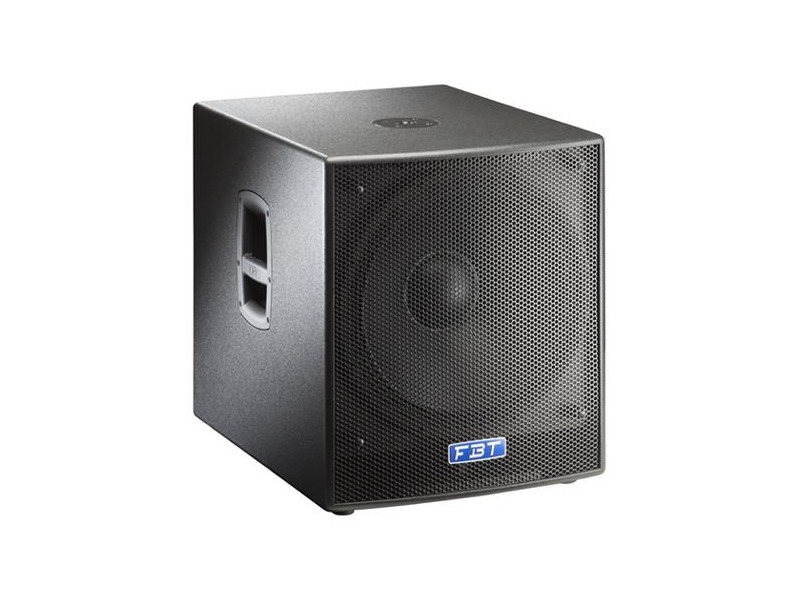 fbt subline 18 s schwarz 18 zoll subwoofer passiv. Black Bedroom Furniture Sets. Home Design Ideas