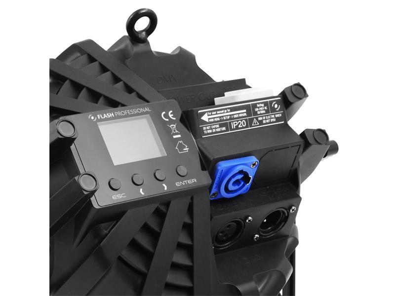 Flash Professional LED PAR 64 SLIM 7x10W RGBW Mk2, 25°