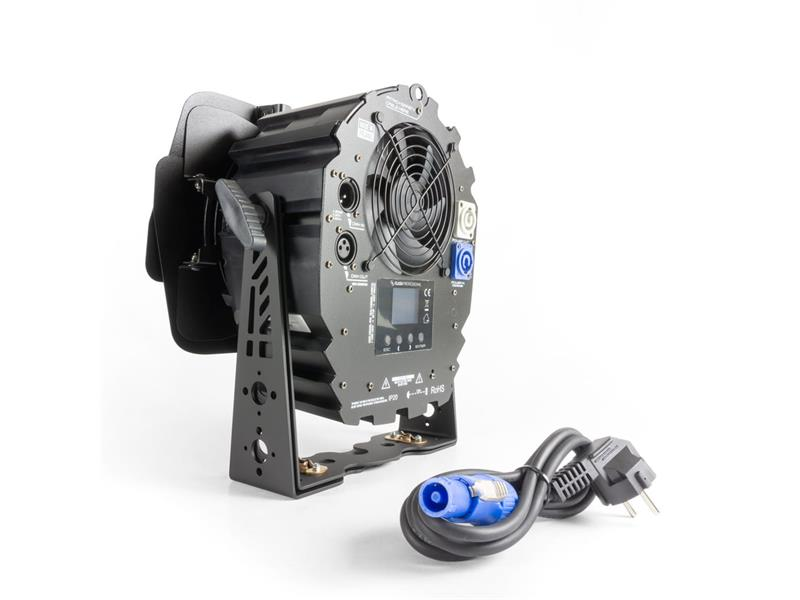 Flash Professional LED PAR 64 250W 5in1 COB 2000-9000K + BARNDOOR Mk2