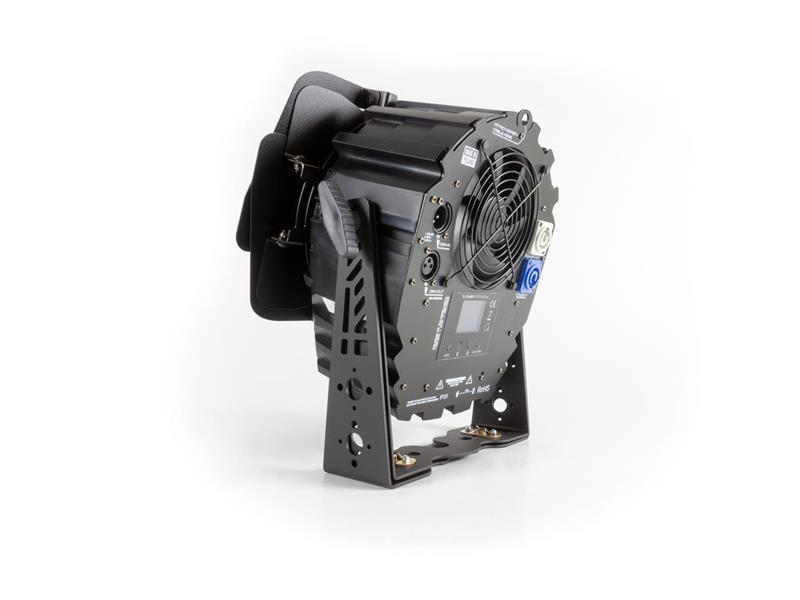 Flash Professional LED PAR 64 250W 2in1 COB SHORT WHITE 2200-5200K + BARNDOOR Mk2