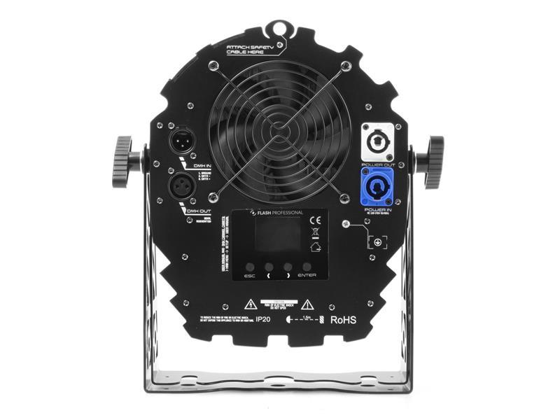 Flash Professional LED PAR 14x10W RGBW SHORT MK2